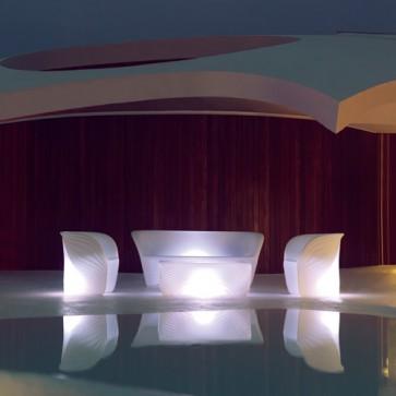Silla Biophilia Lounge Iluminada