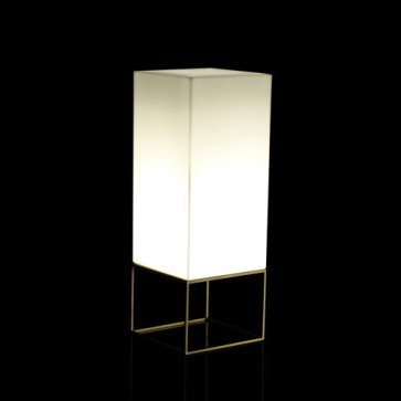 Vela Cubo Medium Iluminada