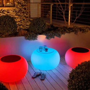Bubble Outdoor LED batería