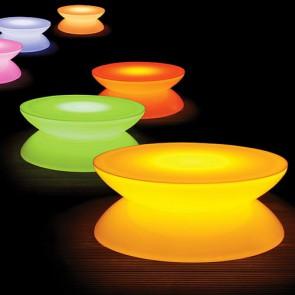 Mesa Lounge con LED