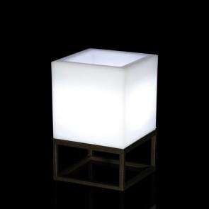 Vela Cubo Small Iluminada